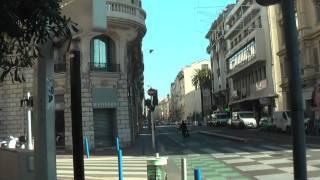 ФРАНЦИЯ: Выход из отеля в Ницце... дорога на Париж... France Nice
