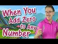 When You Add Zero to Any Number | Math Song for Kids | Addition Song | Jack Hartmann