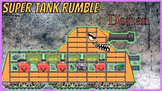 Game xe tăng -  Kỹ thuật tạo xe tăng Dorian   Super tank rumble   Bạn xe tăng vui tính   Tanks