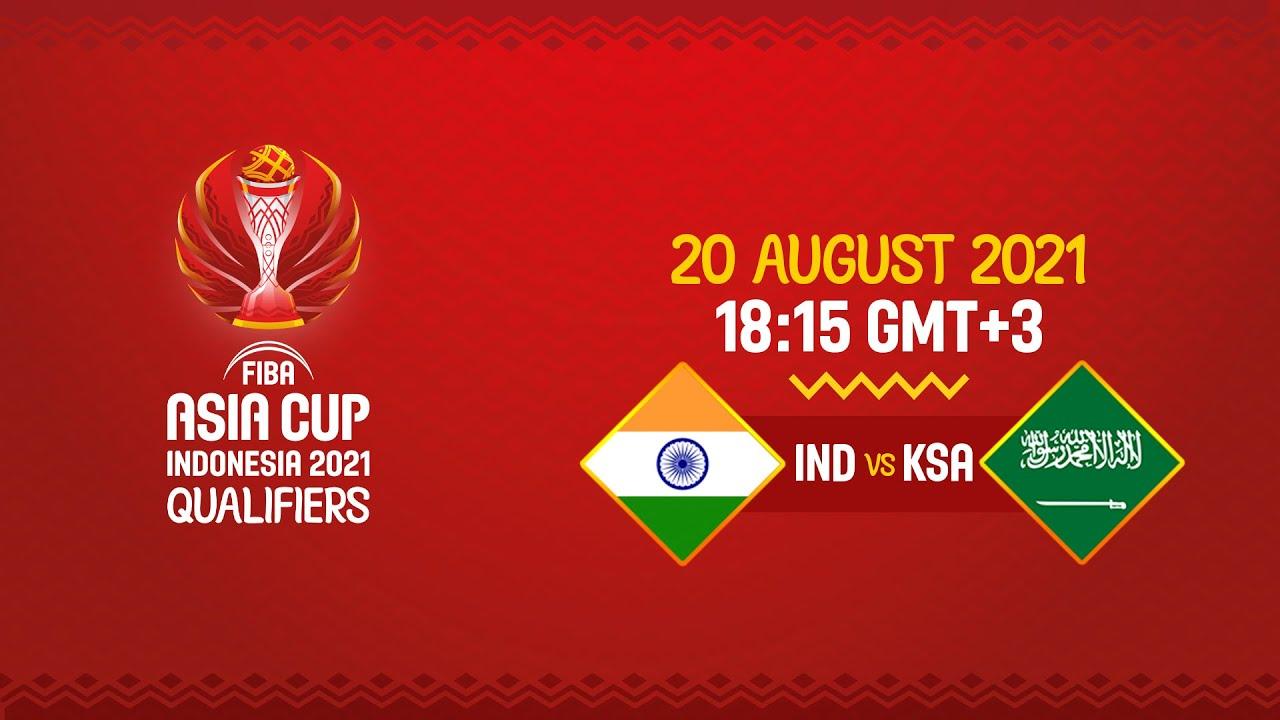 India v Saudi Arabia | Full Game - FIBA Asia Cup 2021 Qualifiers 2021