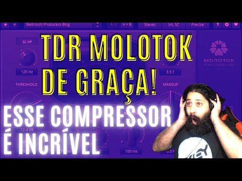 TDR MOLOTOK | O Melhor Compressor gratuito do mundo