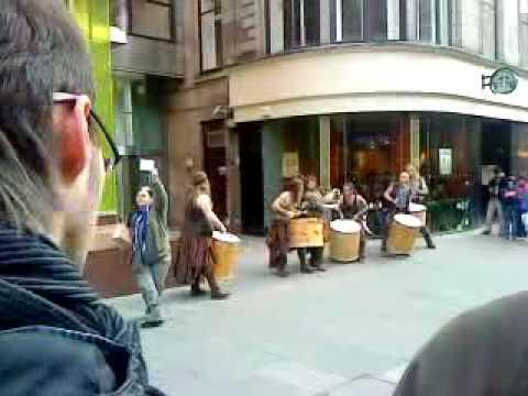 Clanadonia Playing At Glasgow