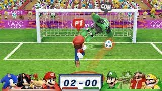 Mario & Sonic At London 2012 Olympic Games Football #26 Team Mario,Bowser Jr, Shadow, Sonic