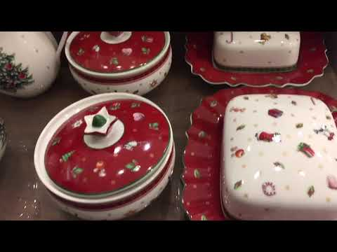 Christmas edition: Villeroy & Boch Christmas tree music box