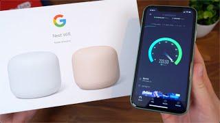 Google Nest Wifi Unboxing and Setup!