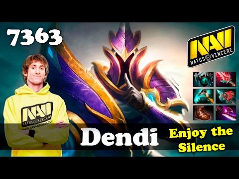 Dendi Silencer Bloodthorn | 7363 MMR Dota 2