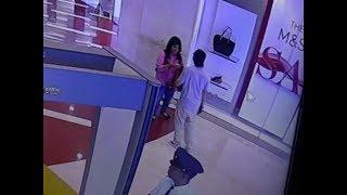 Wow...Dalam Sekejap Mata Gendam Profesional Beraksi di Mall Terekam CCTV @Surabaya