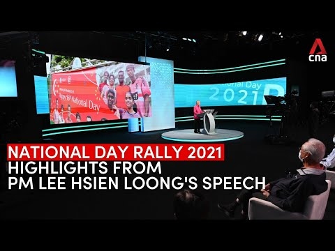 Highlights from Prime Minister Lee Hsien Loong's National Day Rally 2021 speech