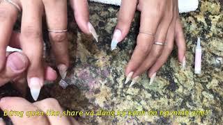 cách làm nail đơn giản 40: cách đơn giản để dũa mongs nhọn đẹp và nhanh