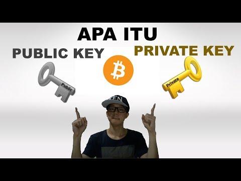 Apa itu Bitcoin Private Key Dan Public Key? Dunia Blockchain
