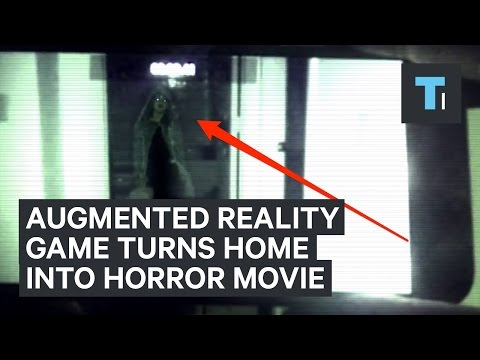 New augmented reality game turns your home into a real-life horror movie