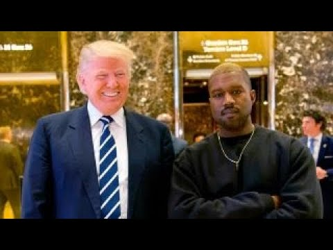 Trump thanks Kanye West for doubling poll numbers