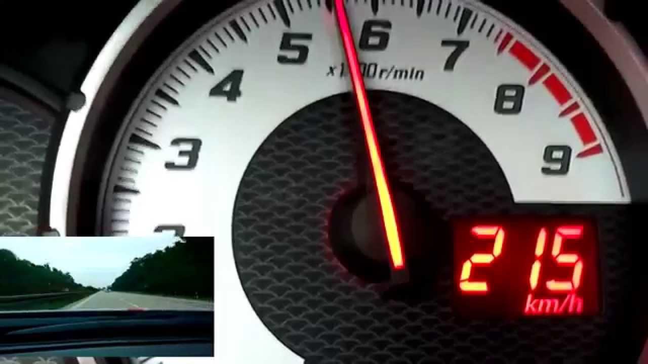Toyota Gt86 Subaru Brz Scion Fr S Hochstgeschwindigkeit Top Speed