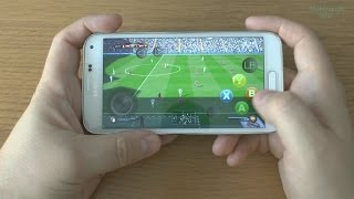 1# FIFA 16 (PC) running on phone Samsung Galaxy S5 - streaming by KinoConsole - AMAZING !!!  part1