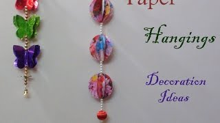 Paper hangings  decoration ideas
