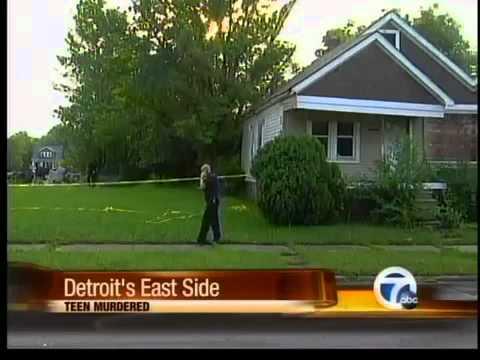 Teen murdered Detroit's east side - YouTube