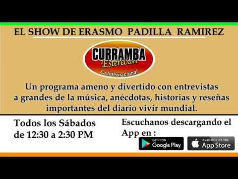"""Alex Polo de visita en el """"Show de Erasmo Padilla Ramirez"""""""