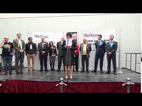 Bolton West | General Election Declaration | Sky News