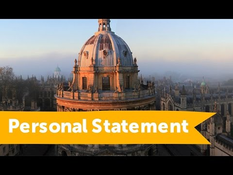 How to write a Personal Statement (advice from Oxford, Sussex, Greenwich and Bangor)