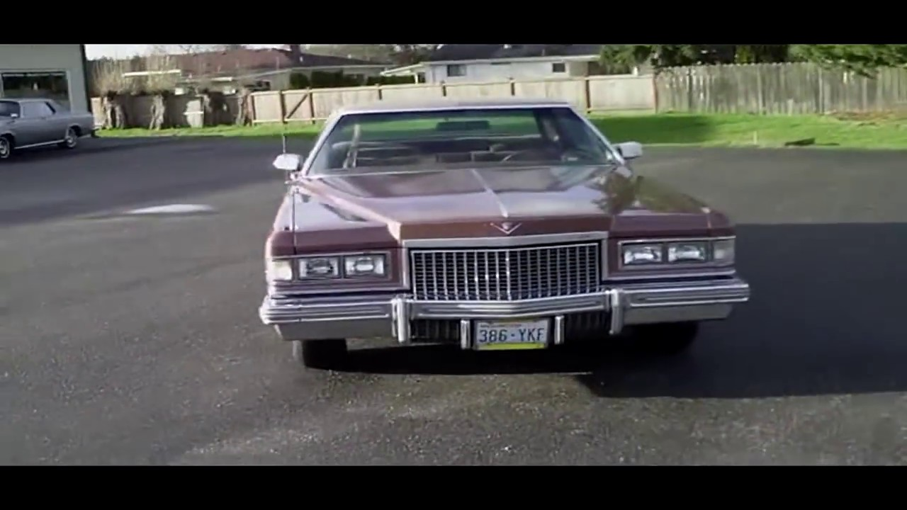 1975 Cadillac DeVille - YouTube