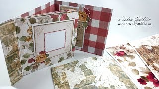 French Country Themed Matchbook Album | Beginner Friendly