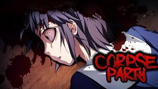Corpse Party: Blood Drive - Girl Gets Killed In Bedroom By A Ghost [1080p 60fps]