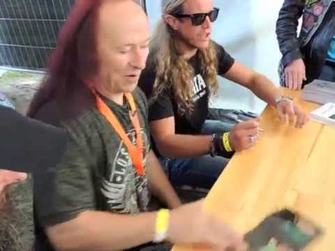VENOM Signing Session Torcy Fall Of Summer 9 Septembre 2017