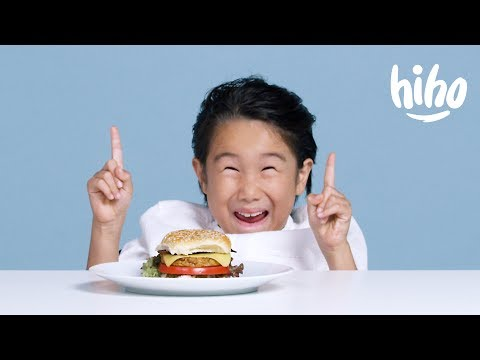 Kids Try Vegan Food | Kids Try | HiHo Kids