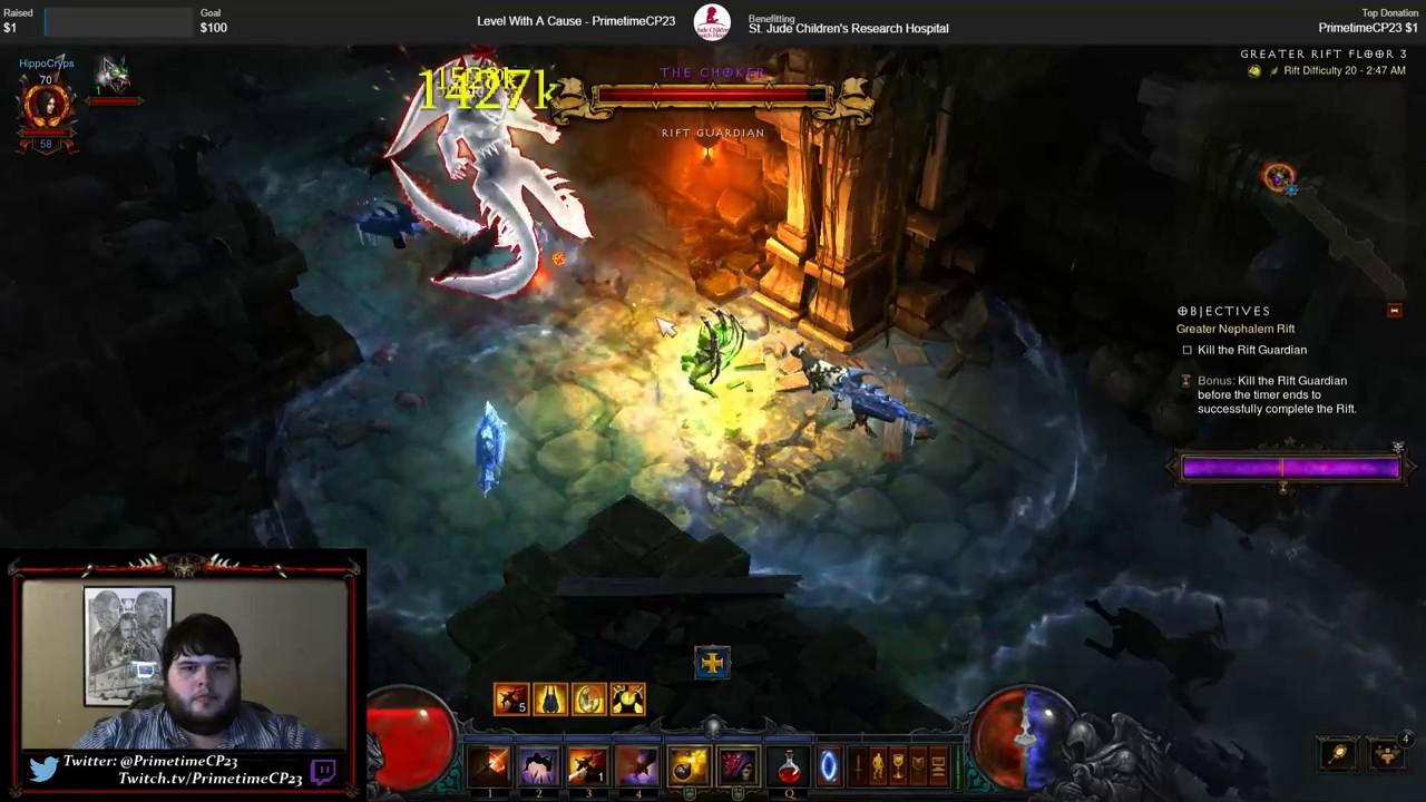 Diablo 3 Season 11 Haedrig's Gift Chapter Completion - YouTube
