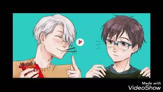 ❤Victuri Comic ~ Yuri On ice!!!❤
