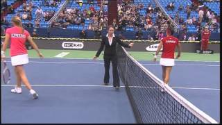 Russia v Japan - 1st Round | Official Fed Cup