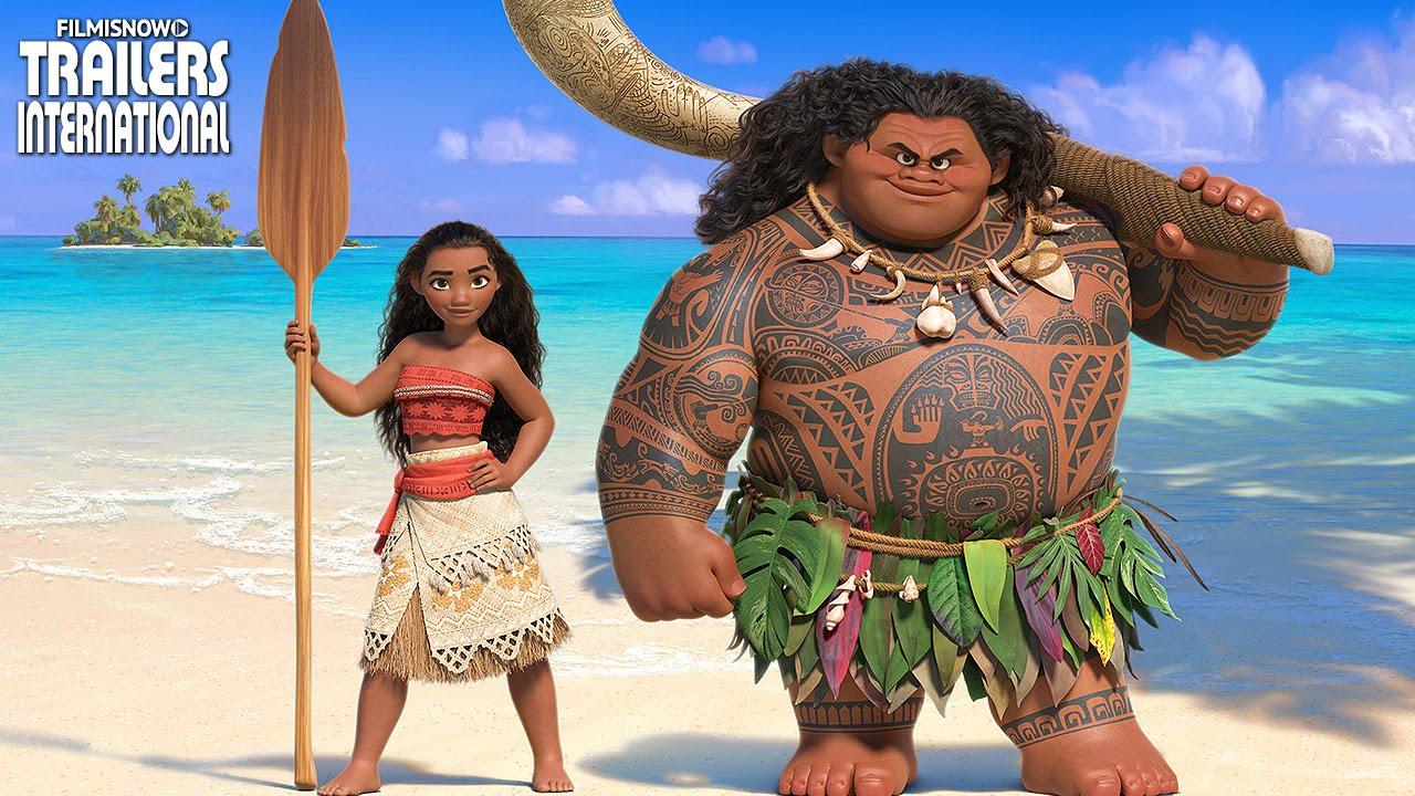 Populares Moana: Um Mar de Aventuras - animação com a nova princesa Disney  XI05