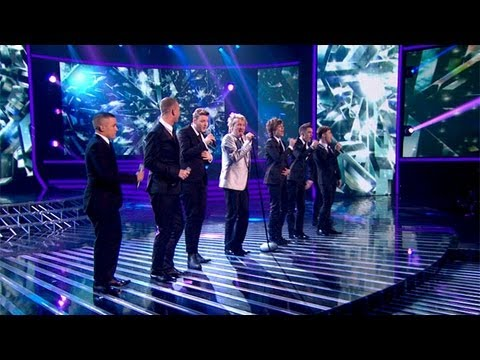 The Finalists & Rod Stewart sing Merry Xmas Baby - Live Week 9 - The X Factor UK 2012