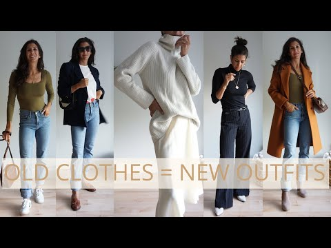 15 Minimalist Outfits When You Think You Have Nothing To Wear | Shop Your Closet - YouTube