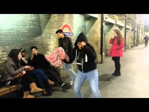 Harlem shake  Notting Hill Gate
