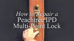 How to Repair an IPD Multi-Point Lock