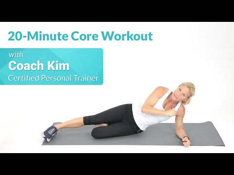 20-Minute Core Workout for Seniors