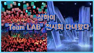 [상하이 VLOG] 팀랩 인생전시회+이케아 다녀온 소소…