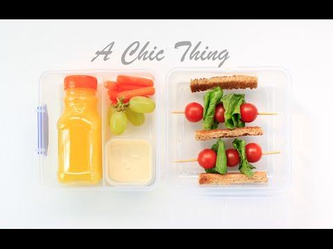 أفكار لإعداد علبة فطور صحية - Healthy Breakfast Box Ideas