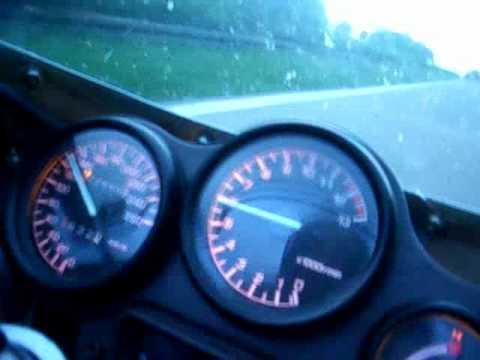 Yamaha FZR 600-onboard beschleunigung