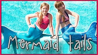 HONEST Review of the FIN FUN Mermaid Tail & Monofin  + How to Put it On!