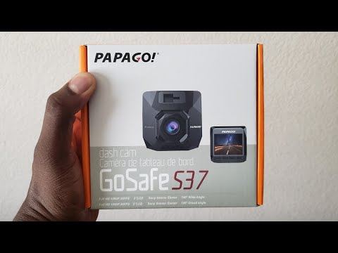 NEW PapaGO GoSafe S37 | Unboxing & Demo!