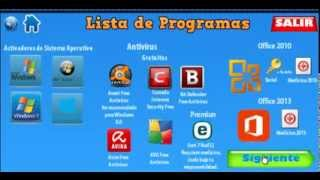 TEU Paquete De Programas Básicos 2014 Full Para Después De Formatear Windows 8, 7, Vista y XP