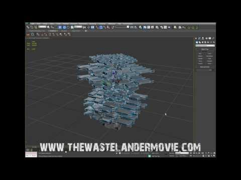 THE WASTELANDER MOVIE tutorial 2: creating rubble in 3ds max