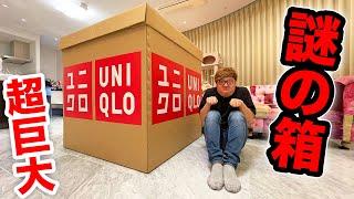 ユニクロから超巨大な謎の箱が届いたので開封します。。。