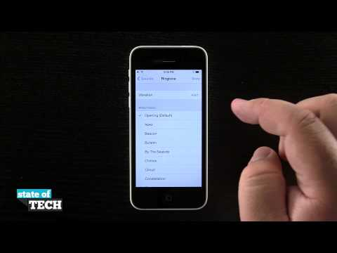 iPhone 5C Quick Tips - Change the Default Ringtone