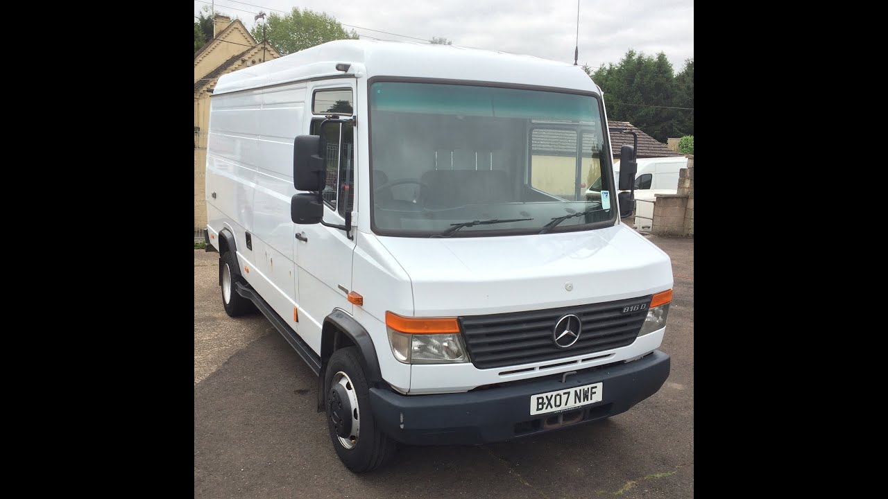 2007 mercedes benz vario van review youtube