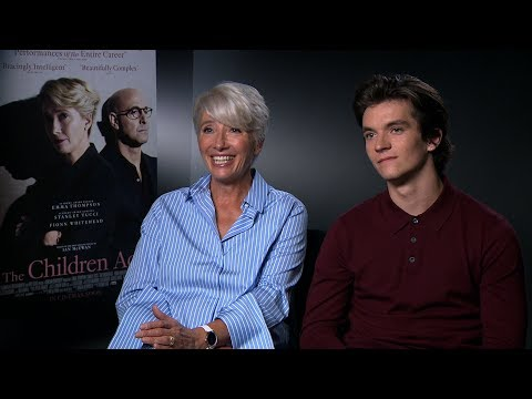 The Children Act interview: hmv.com talks to Emma Thompson, Fionn Whitehead and Richard Eyre Mp3