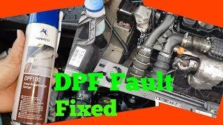 Peugeot Blocked DPF Fixed.