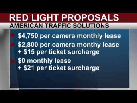Data Shows Cost Of Proposed Red Light Cameras
